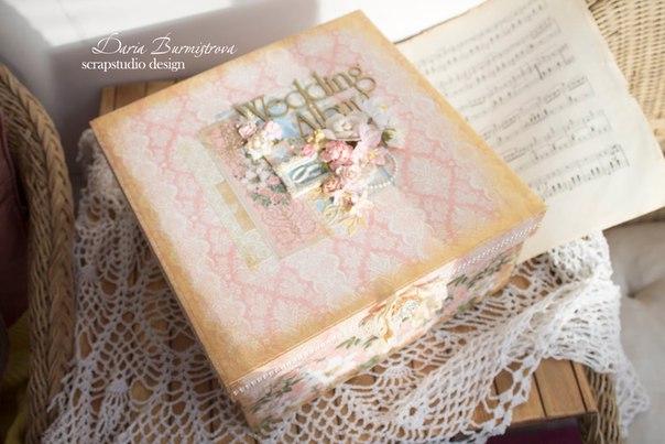Шикарный свадебный альбом