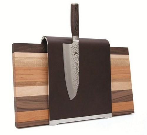 Идеи хранения ножей на кухне