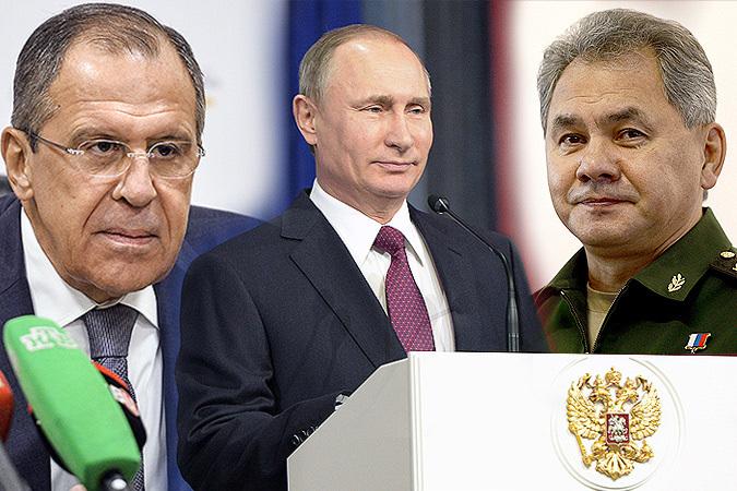 «Люди года» по версии россиян: Путин, Лавров и Шойгу