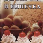 Десерты и выпечка.