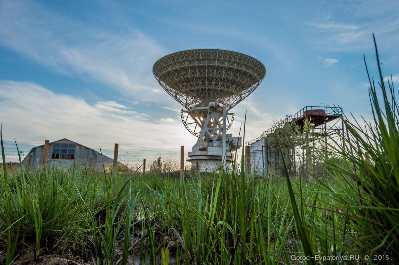 Уникальный радиотелескоп П-2500 (РТ-70)