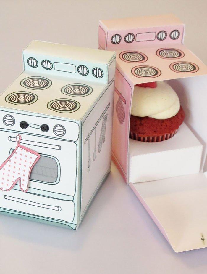 Кексы в духовке