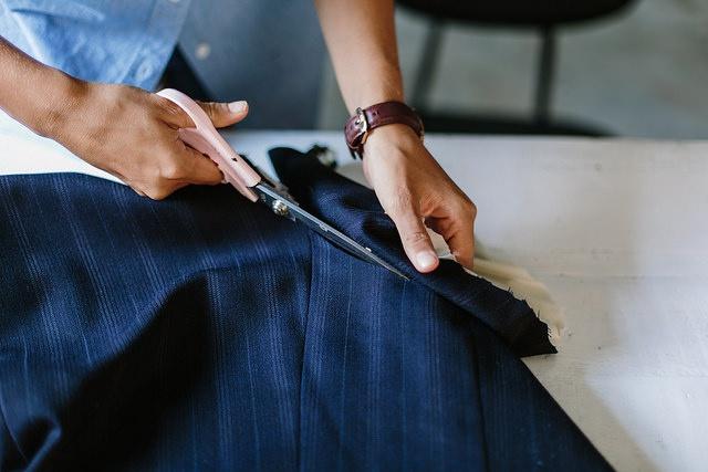 платье из пиджака своими руками