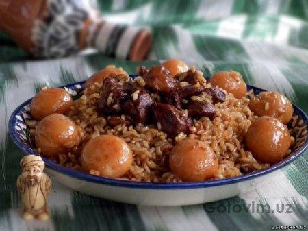 Плов с картофелем (картошка палов) - Узбекская кухня