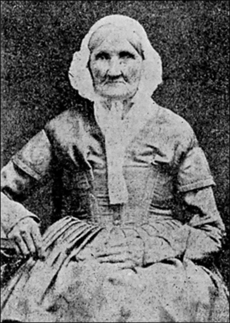 Ханна Стили, рожденная в 1746, сфотографирована в 1840. Никто из сфотографированных людей не родился раньше нее. Историческая фотография, история, факты