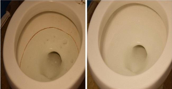 очистка унитаза