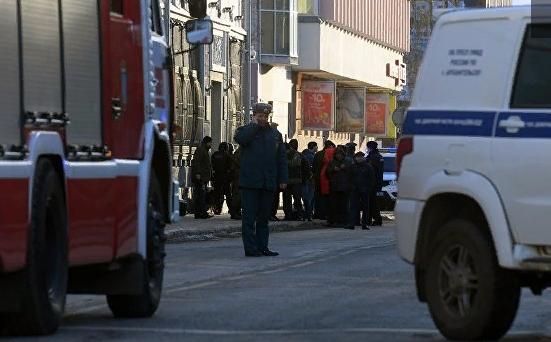 В Архангельске у здания ФСБ прогремел взрыв