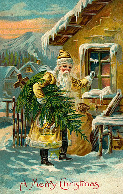 10 A Victorian Era Yellow Father Christmas.jpg