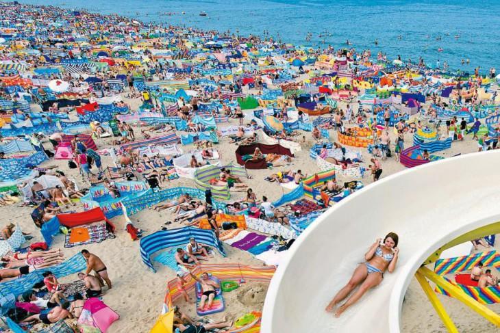 «Пляж для интровертов»: в Польше придумали разгораживать пляжные места перегородками
