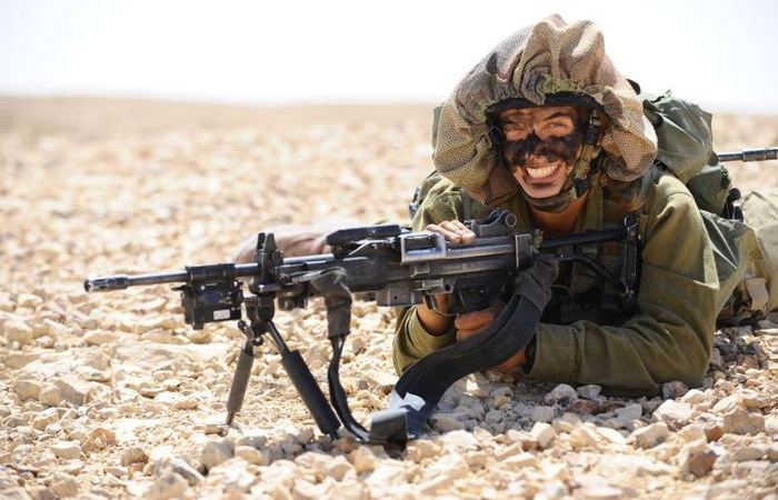 Что за мешки на головах израильских солдат?