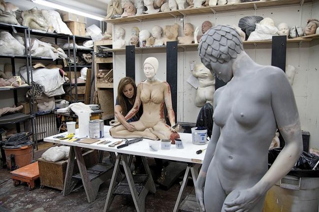 Скульптуры, которые вот-вот оживут...