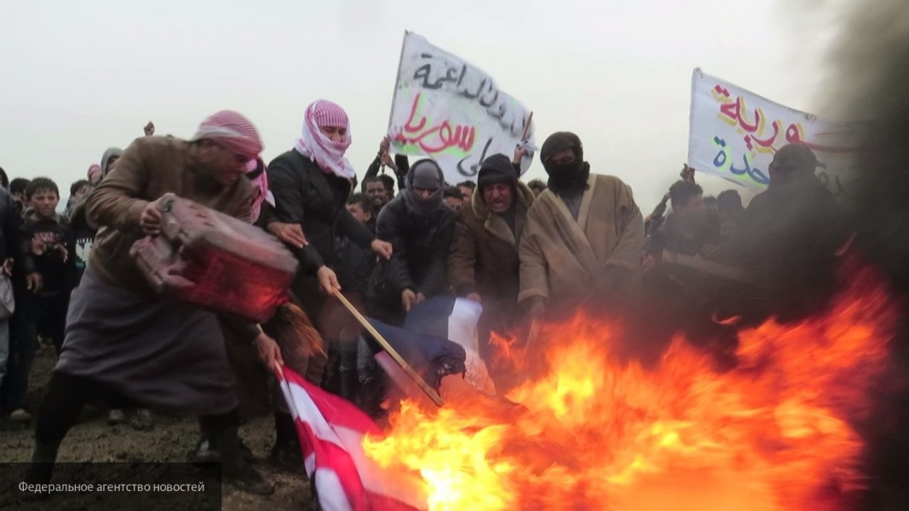 Жители Эт-Табка требуют вывода иностранных  военнослужащих из Сирии