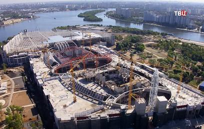 """Собянин: парк """"Остров мечты"""" примет первых посетителей в следующем году"""