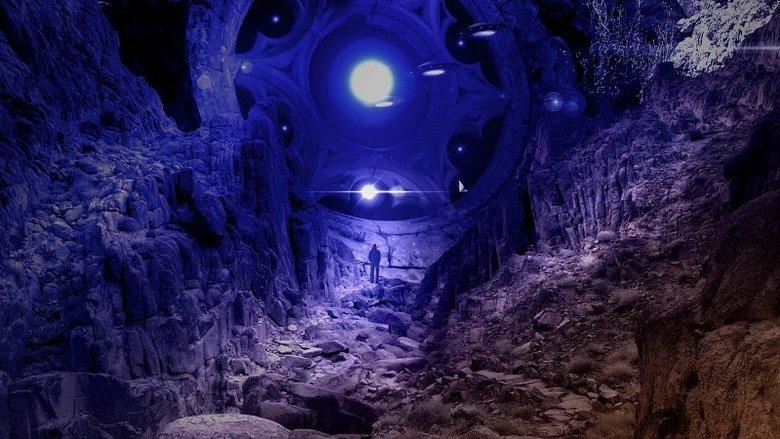 Дискообразный НЛО был снят на Луне?