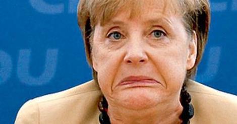 Уточка Меркель ютится в хрущёвнунге