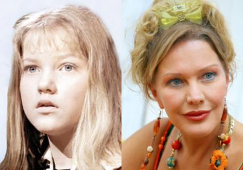 Актёры фильма «Снежная королева» 50 лет спустя.