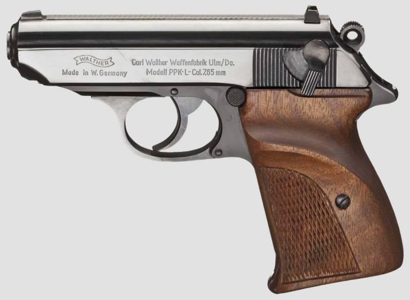 Walther PPK-L: пистолет из лёгкого сплава DURAL