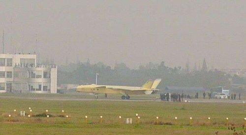 Истребитель J-20 2101