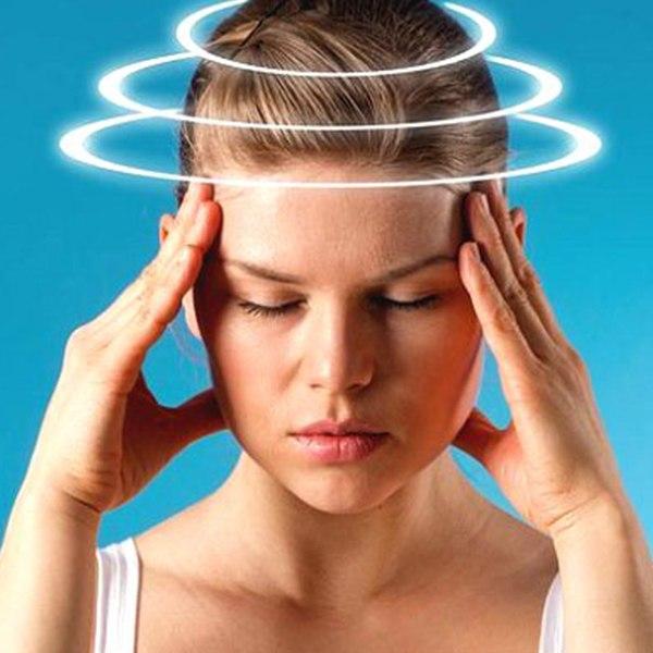 Упражнения против головокружения
