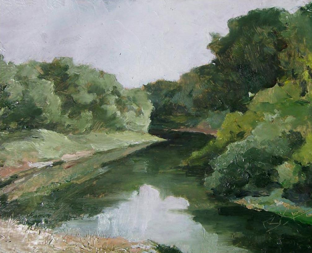 река Медведица у станицы Етеревской