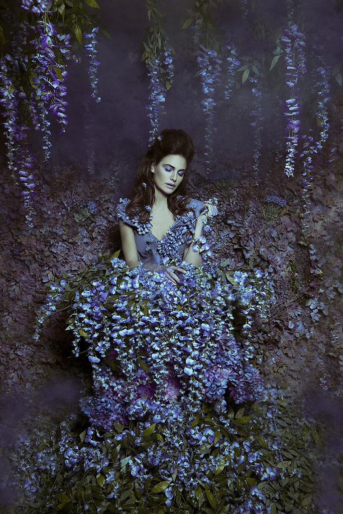 Фотопрект «Таинственный сад». Потрясающие сюрреалистические портреты фотографа Даниэлы Мэджик - 12