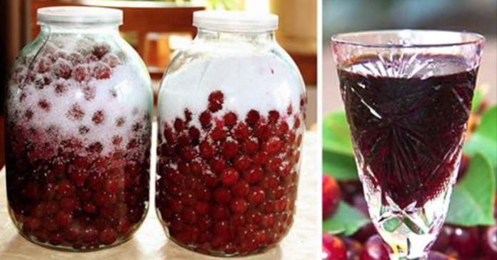 Как приготовить вишневый ликер из 3 ингредиентов