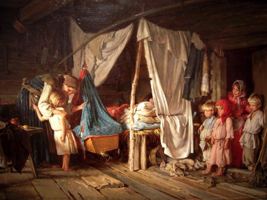 Колыбель русской культуры нужно искать в деревенской люльке