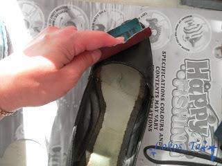 Старые туфли - реанимация!