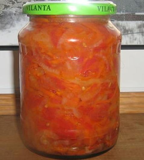 Салат с морковью и помидорами на зиму от Серёги