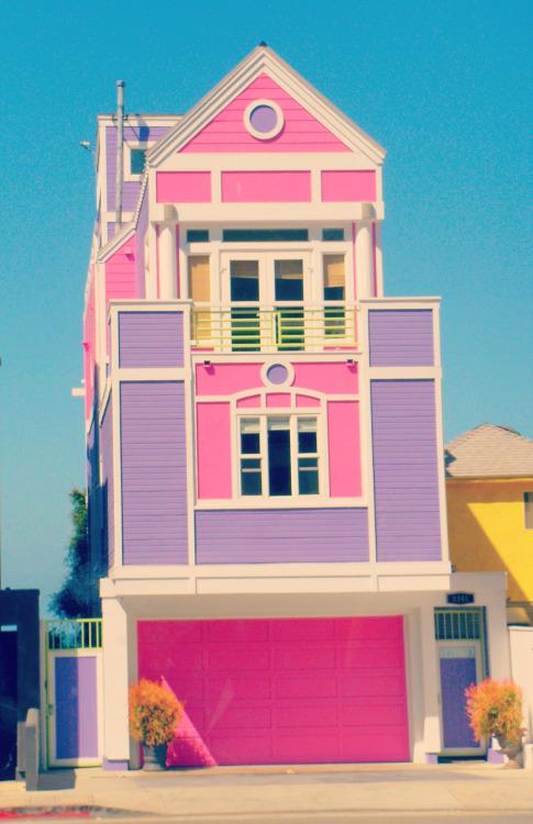 5. Дом Рут Хэндлер, которая создала Барби, Санта-Моника, Калифорния дом, идея, проект