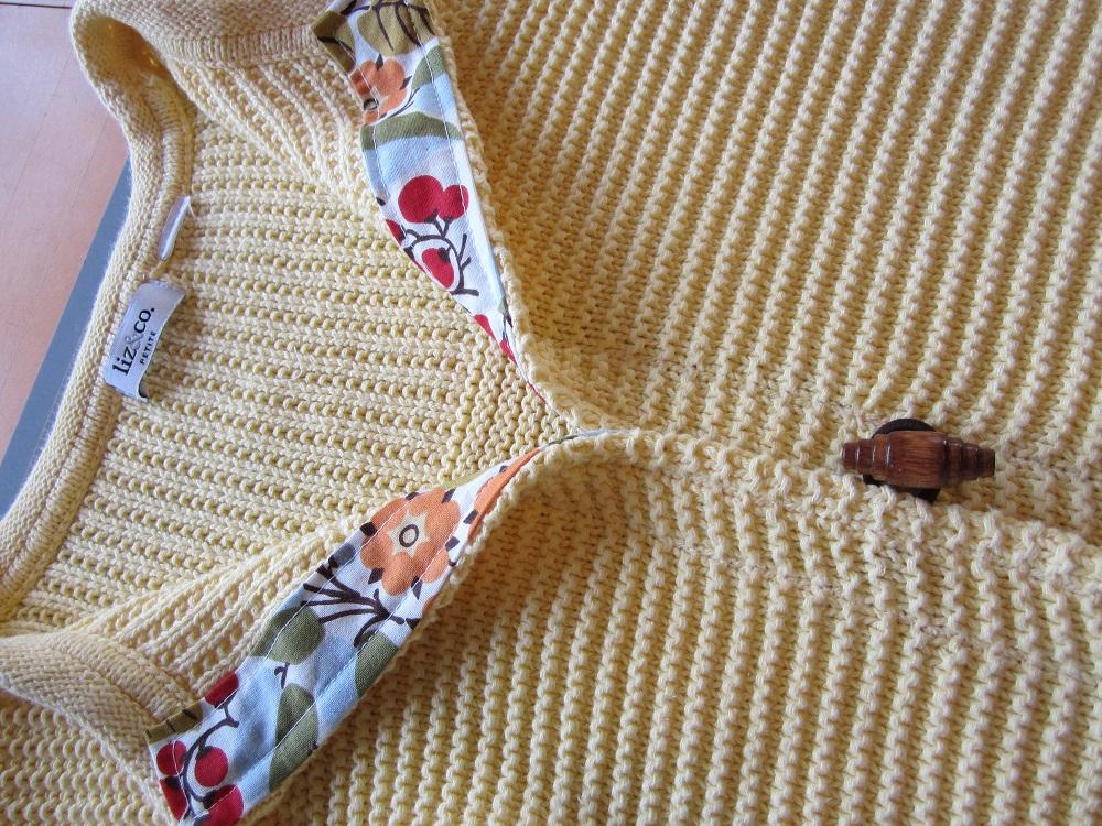 Как сделать кардиган из пуловера. МК