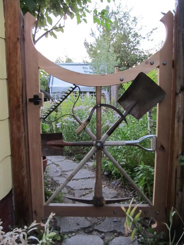 Несколько оригинальных идей для сада. Создай настоящую зону креатива у себя возле дома!