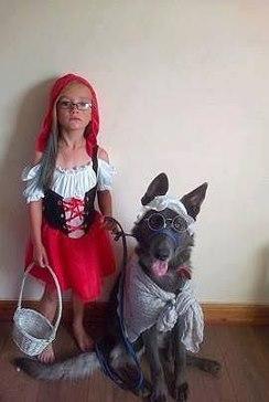 Вот такая Красная Шапочка)))