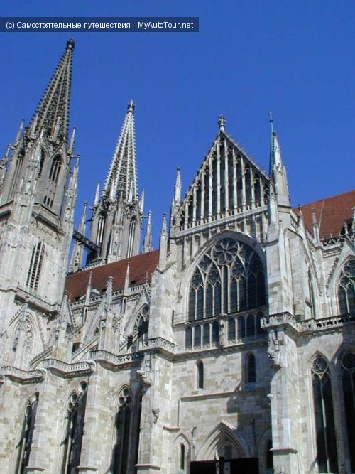 Регенсбург (Regensburg). Собор Святого Петра