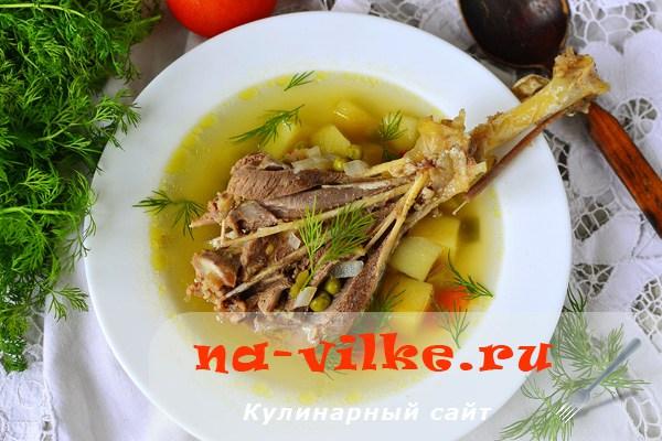Суп из крыльев индейки рецепты с фото