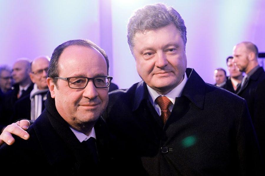 Порошенко поедет в Париж на встречу с Олландом