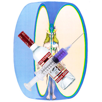Влияние алкоголя и наркотиков на организм и сущность человека