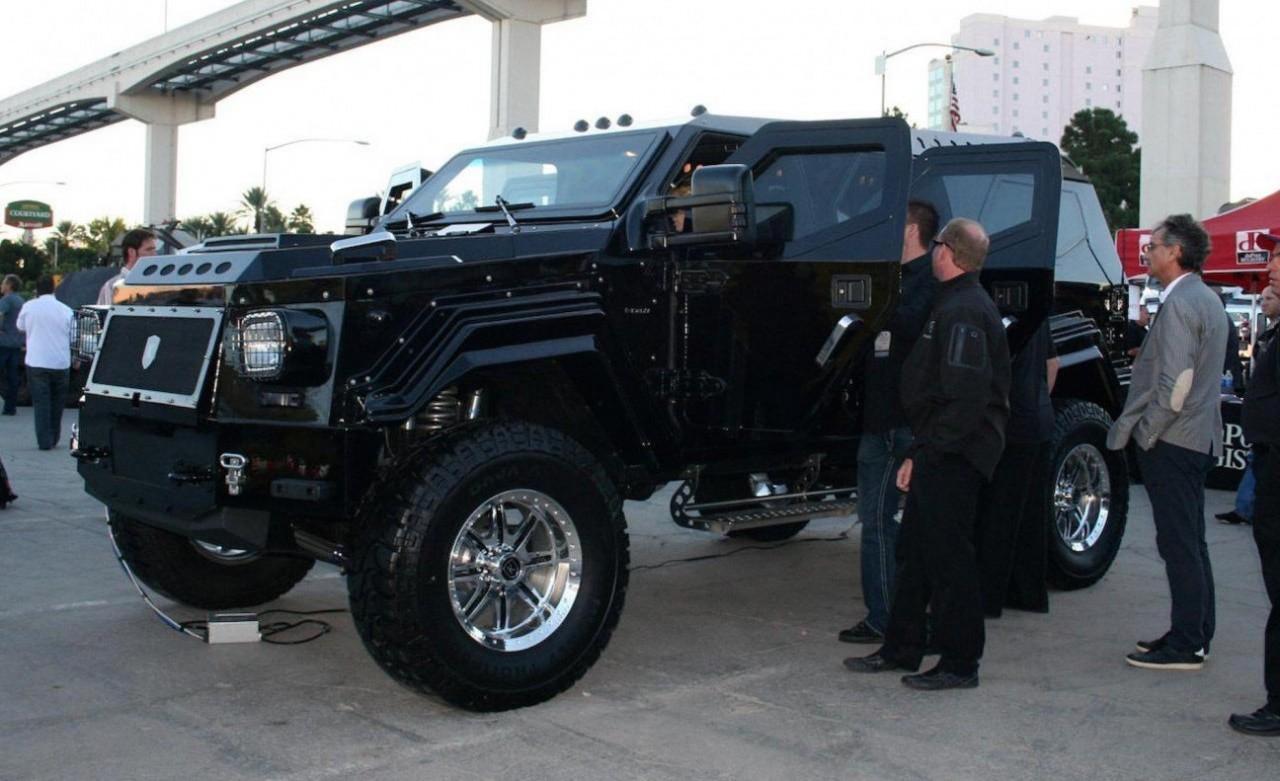 Самые дорогие бронированные транспортные средства