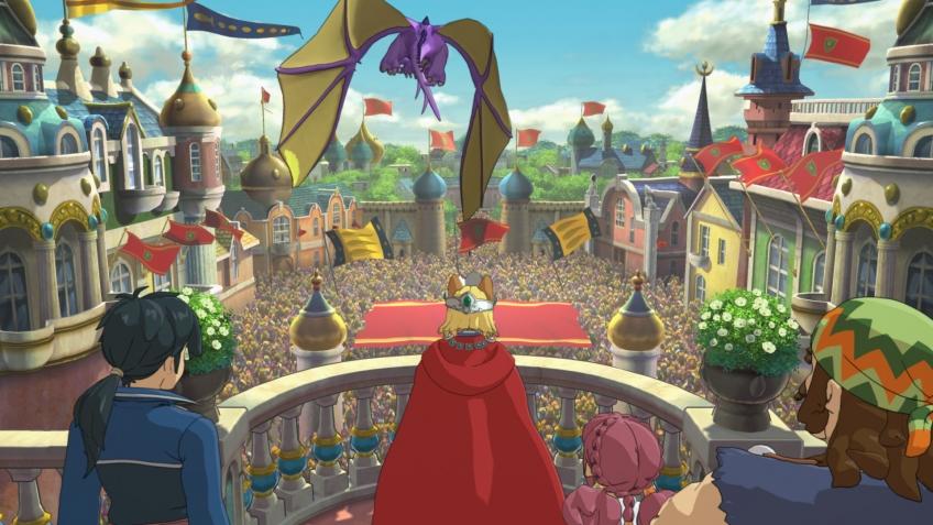 В сети появилось полчаса игрового процесса Ni no Kuni 2: Revenant Kingdom