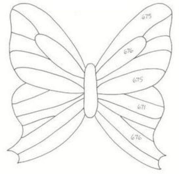 Как сделать картинки бабочек своими руками
