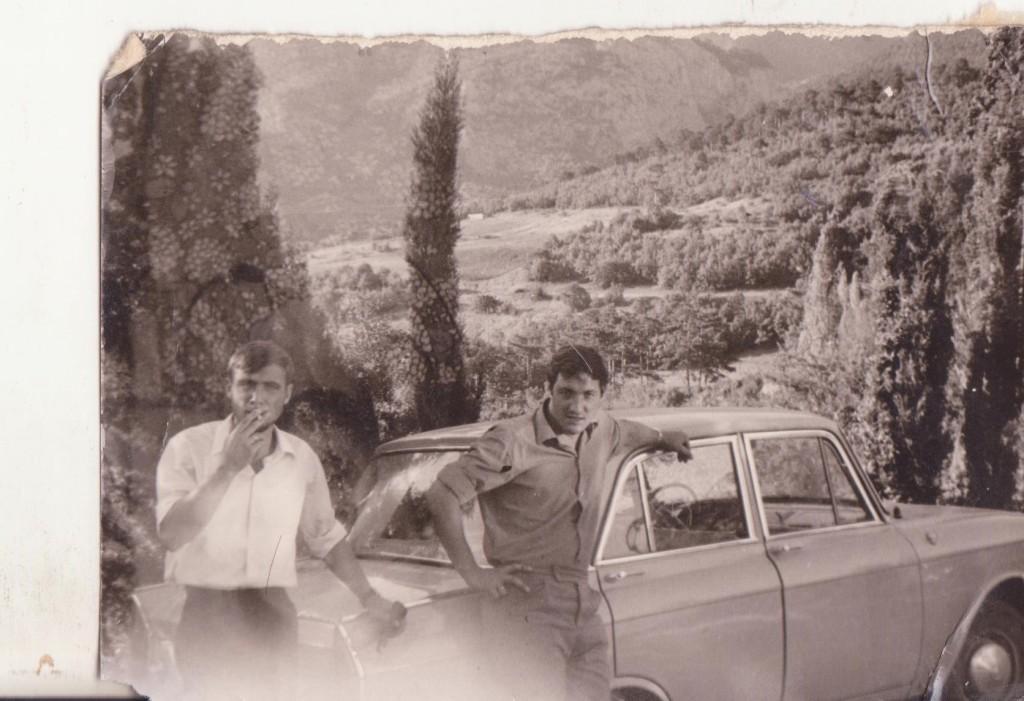 Анатолий и Артур в Ялте