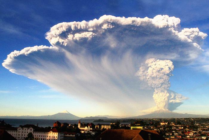 Извержение вулкана Кальбуко …