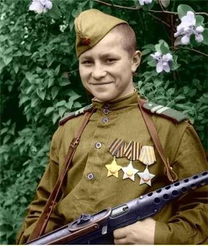 Шестнадцатилетний кавалер ордена Славы