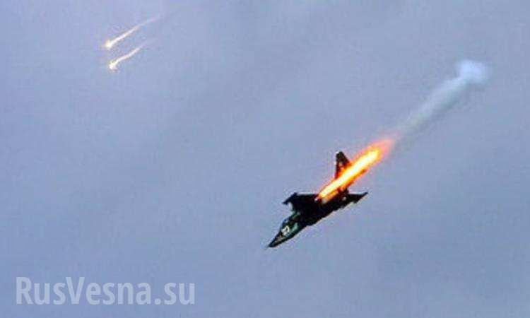 Украинцы сбили российский СУ-25 в небе над Сирией из секретного оружия