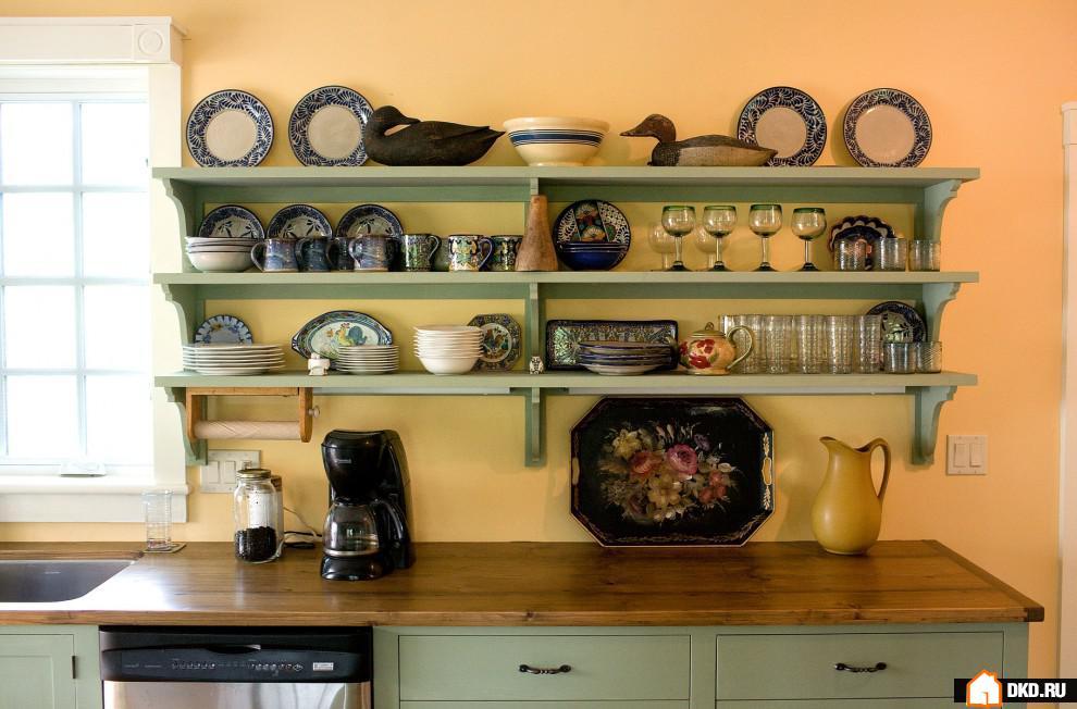 Фото полки на кухню своими руками фото