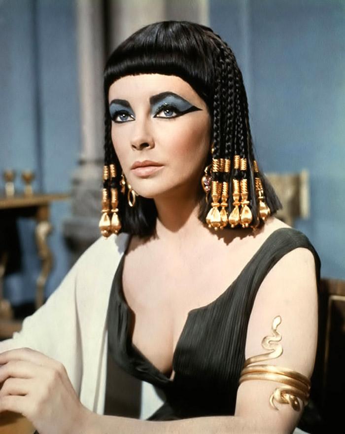 Элизабет Тейлор (Elizabeth Taylor) на съемках фильма «Клеопатра» (Cleopatra) (1963), фото 2