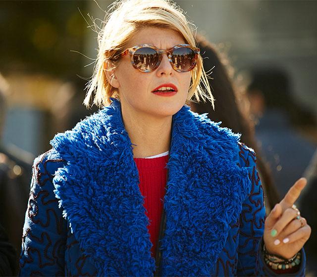 Неделя моды в Париже, весна-лето 2016: street style. Часть 1 (фото 8)