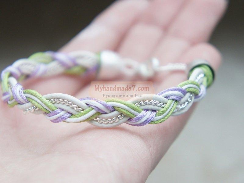 Простенькие браслеты