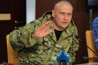 Ярош раскритиковал мобилизацию Порошенко: никто не хочет идти на войну, которой нет