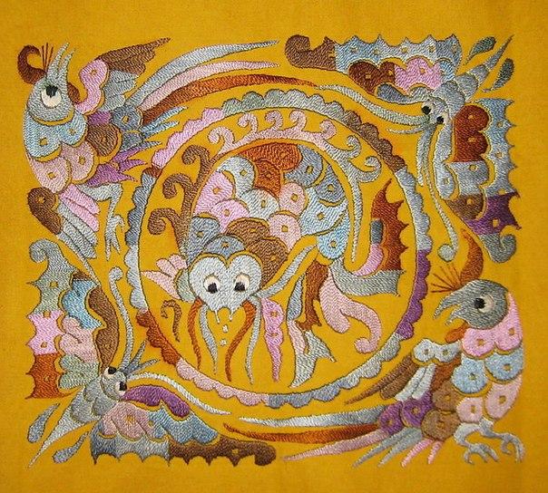 Талант вышивальщицы из Китая